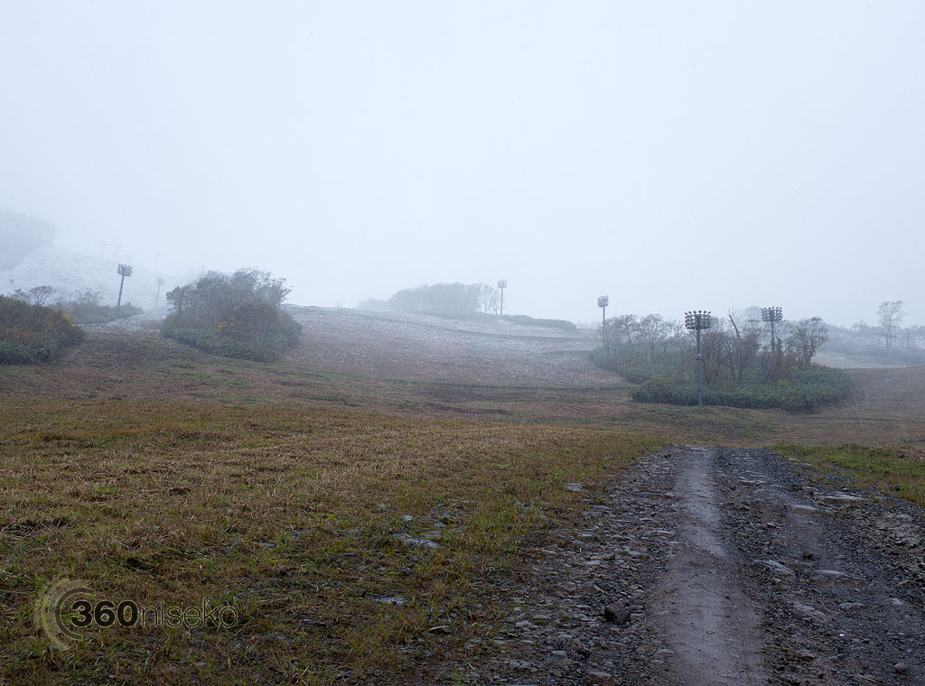 Approaching the snow line, 17 October 2013