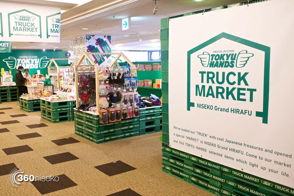 Tokyu-Hands-Truck-Market-Niseko