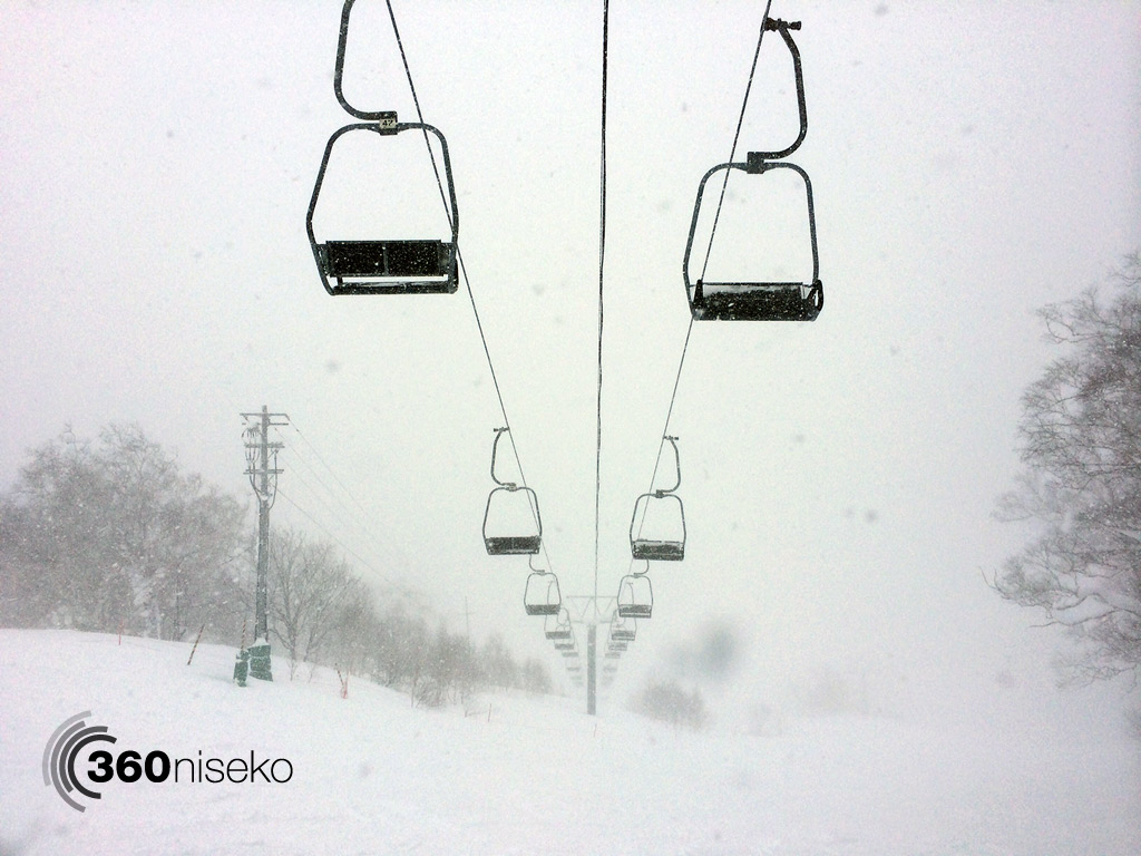 Heavy snow low visibility , 13 January 2014