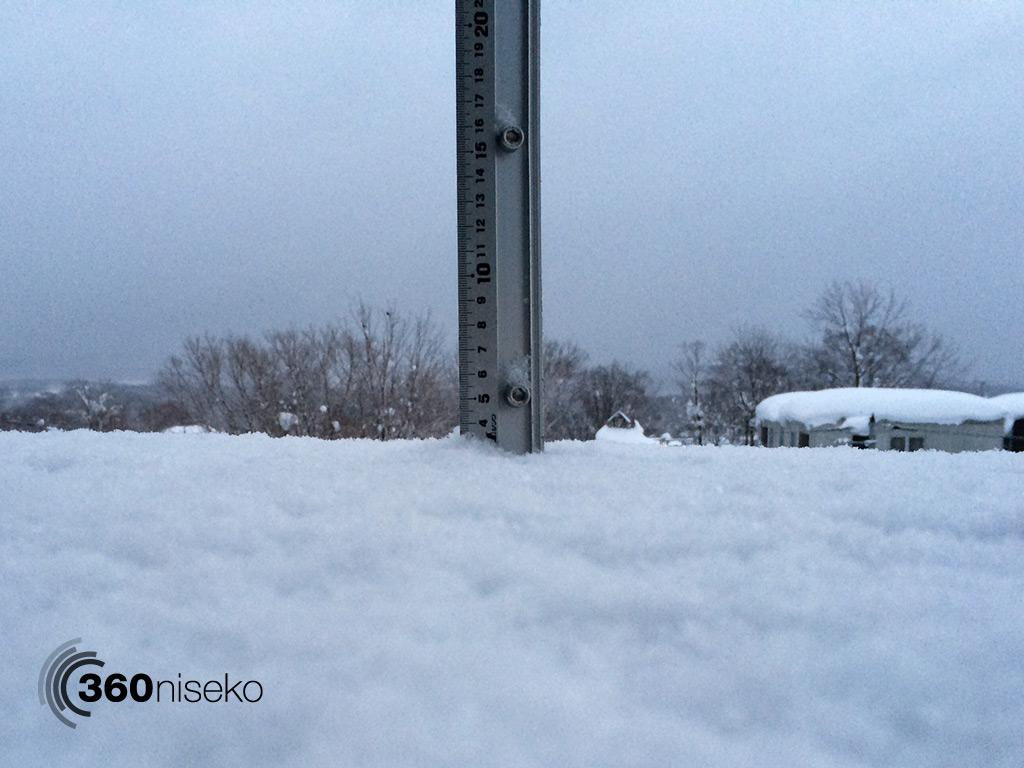 Snowfall in Hiarfu Village, 19 January 2014