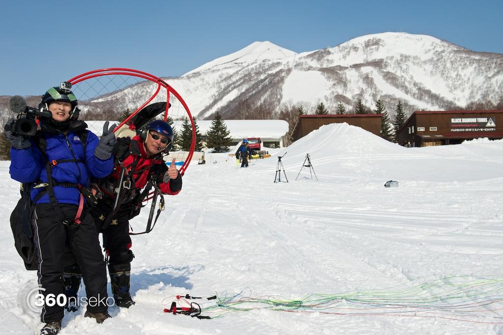MPG Sorachi pilot, Kenji Sato