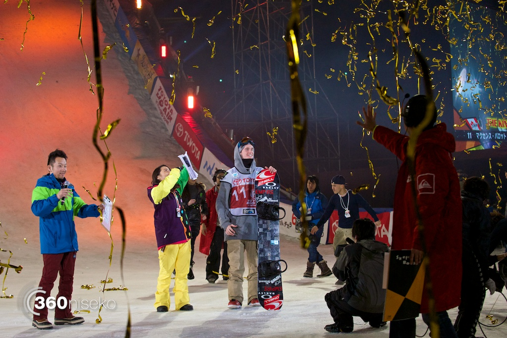 2014 Toyota Big Air winner, Maxence Parrot