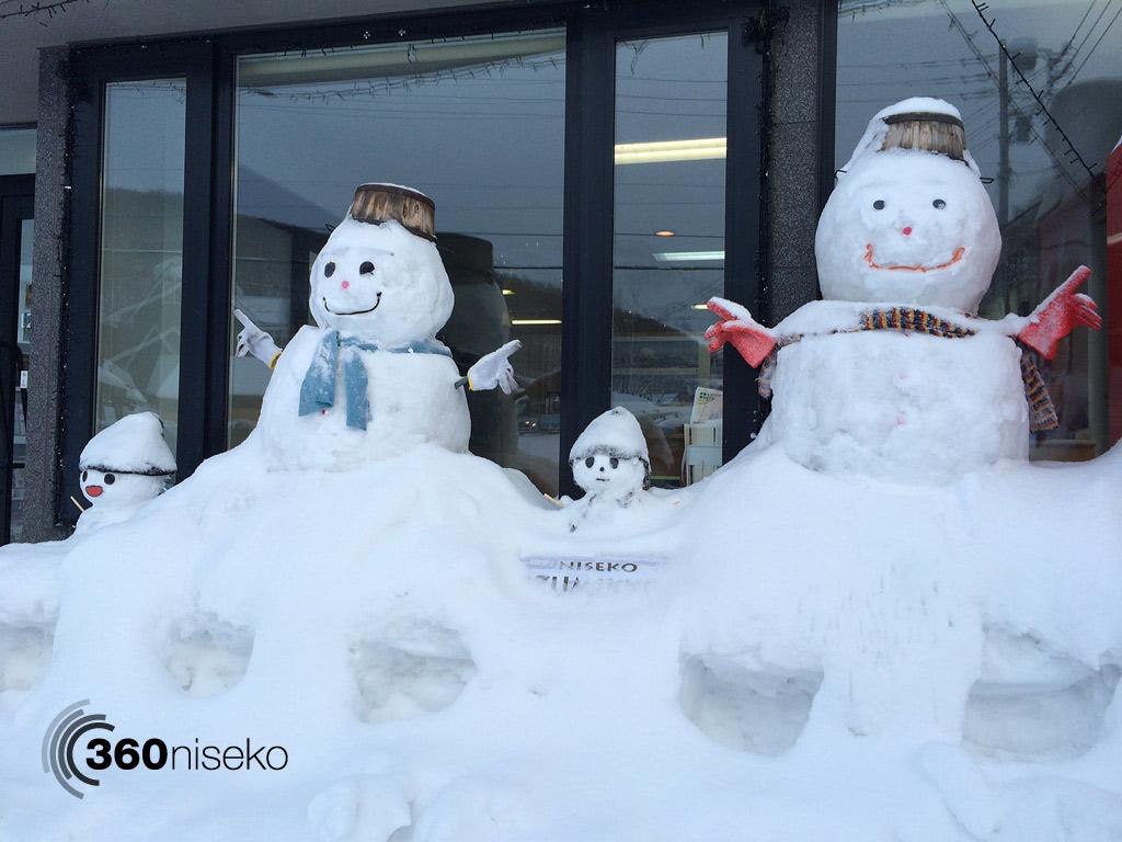 Izumikyo Snowman Family, 18 February 2014