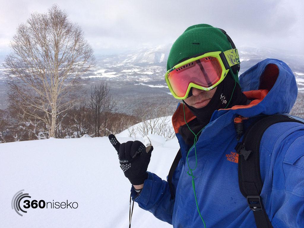 Hiking Mt.Yotei, 10 February 2014 #rhythmjapow