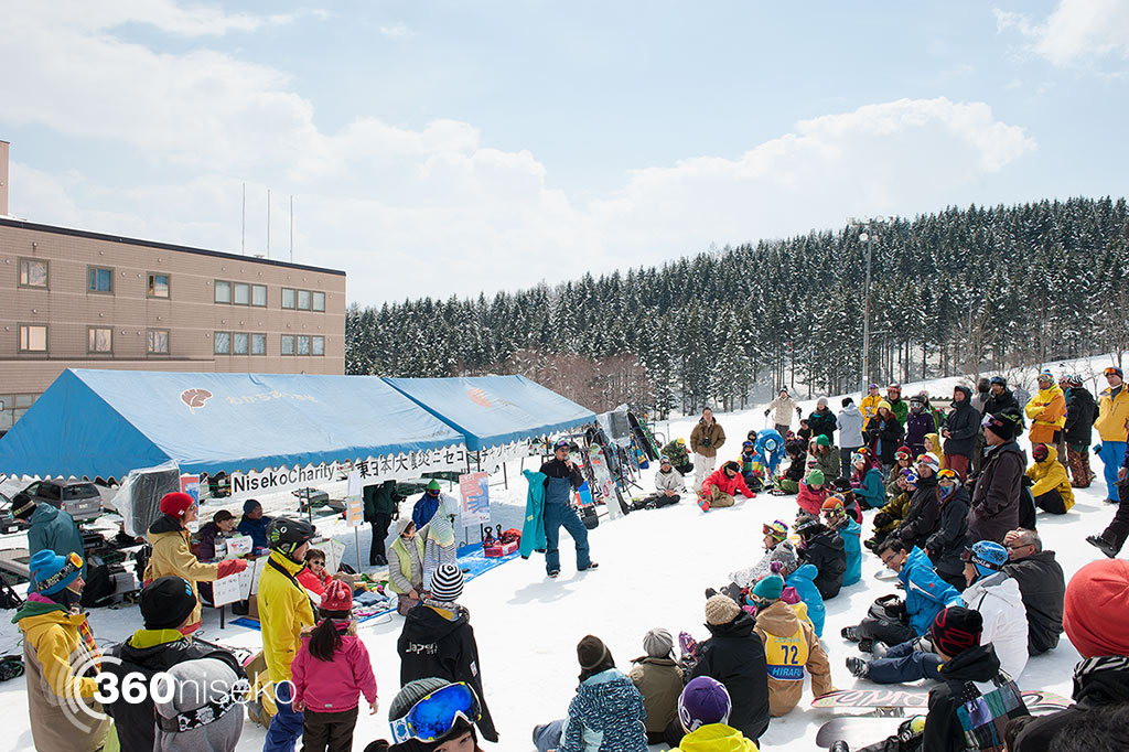 The first Niseko Charity Auction, 8 April 2012
