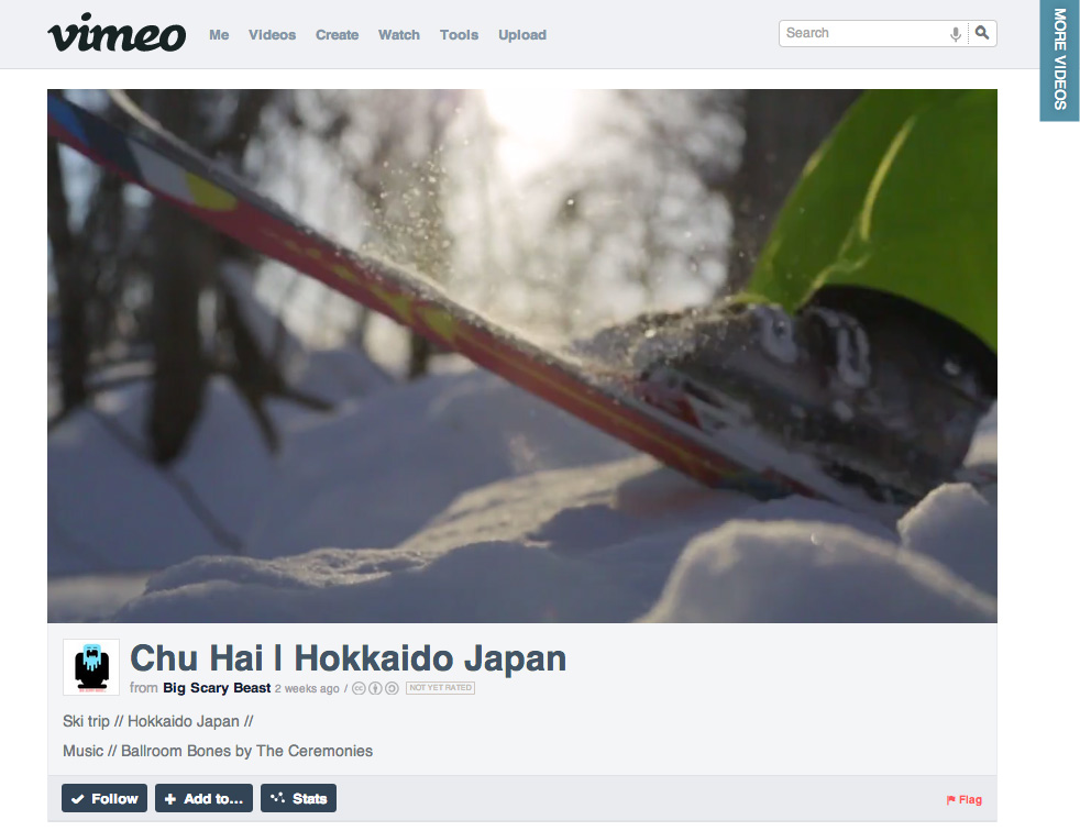 Chu Hai - Hokkaido Movie by Big Scary Beast