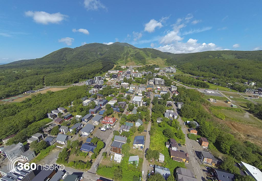 Middle and Upper Hirafu Village, 28 July 2014