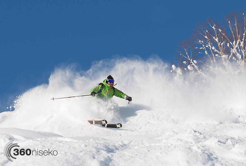 Mane ripping up the perfect snow, 15 December 2014