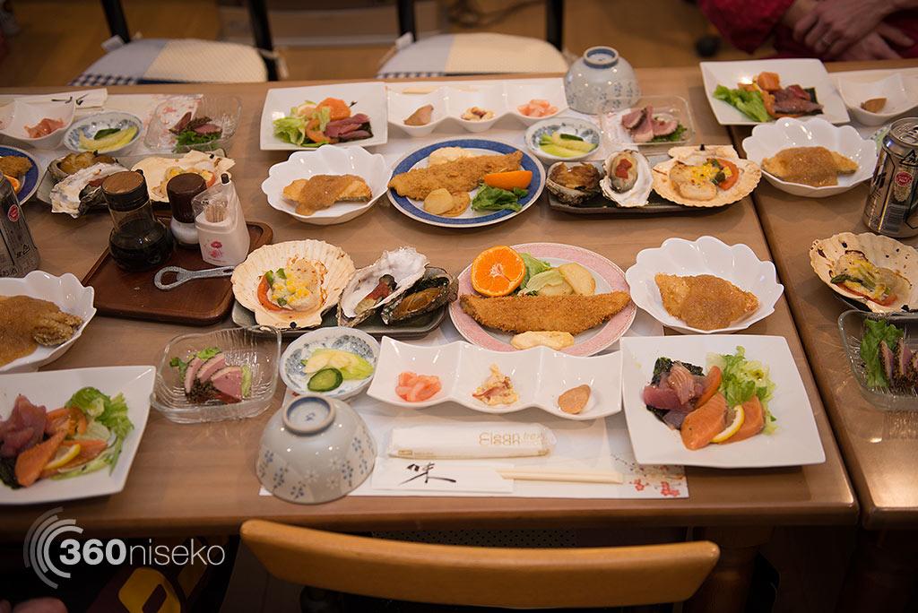 Dinner, 10 January 2015