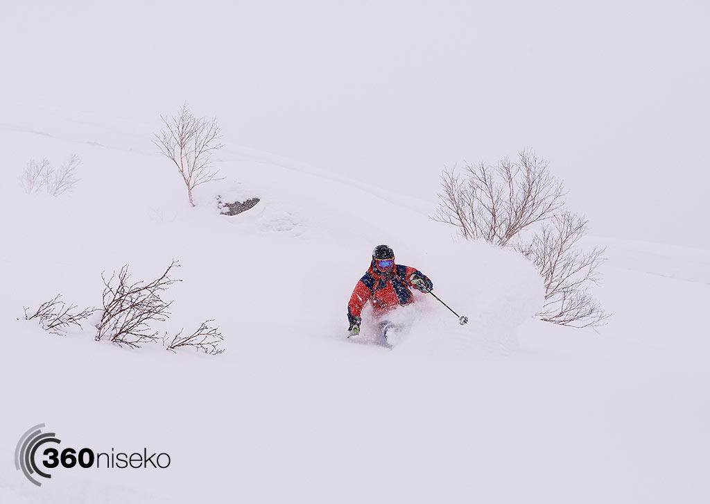 Brad pushing the snow around like a boss, 19 January 2015