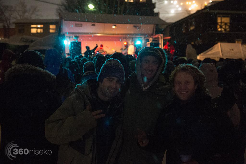 Bliss n Eso event promotors, Jamie, Charlie & Dennis, 2 February 2015