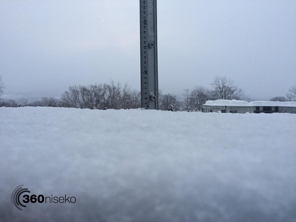 Snowfall in Hirafu Village, 13 February 2015