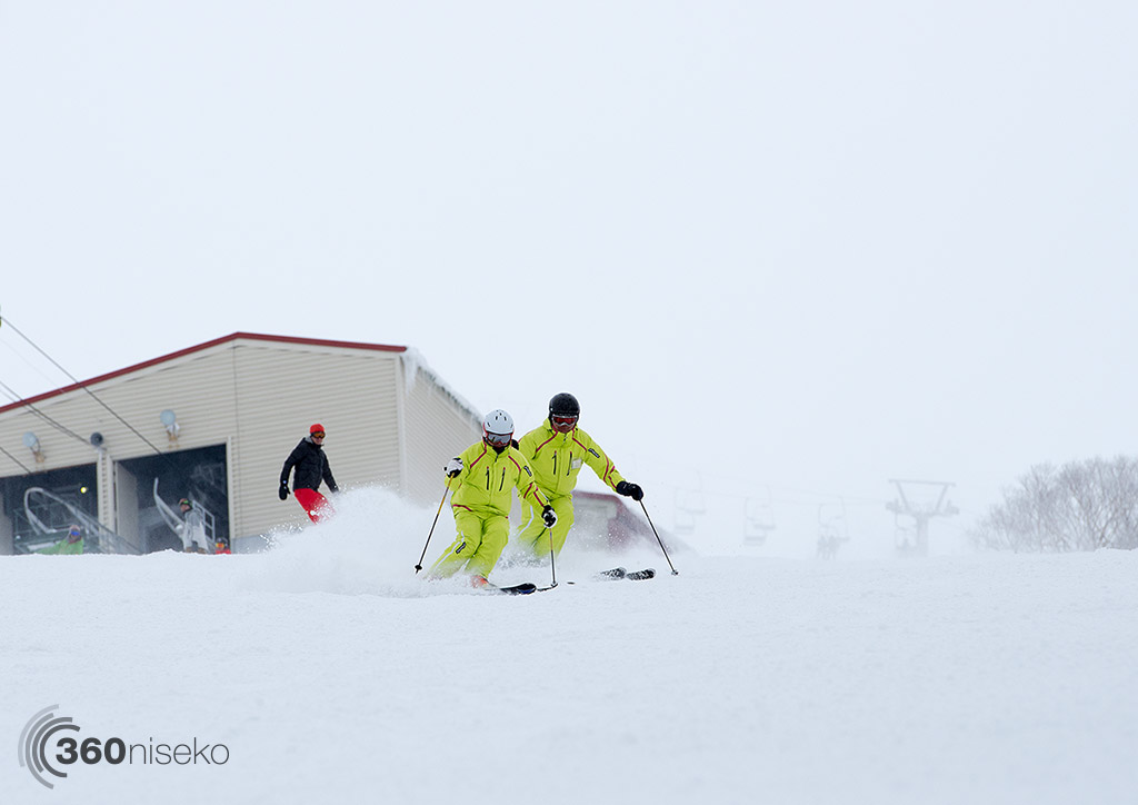 Annupuri Skiers on Utopia, 1 March 2015