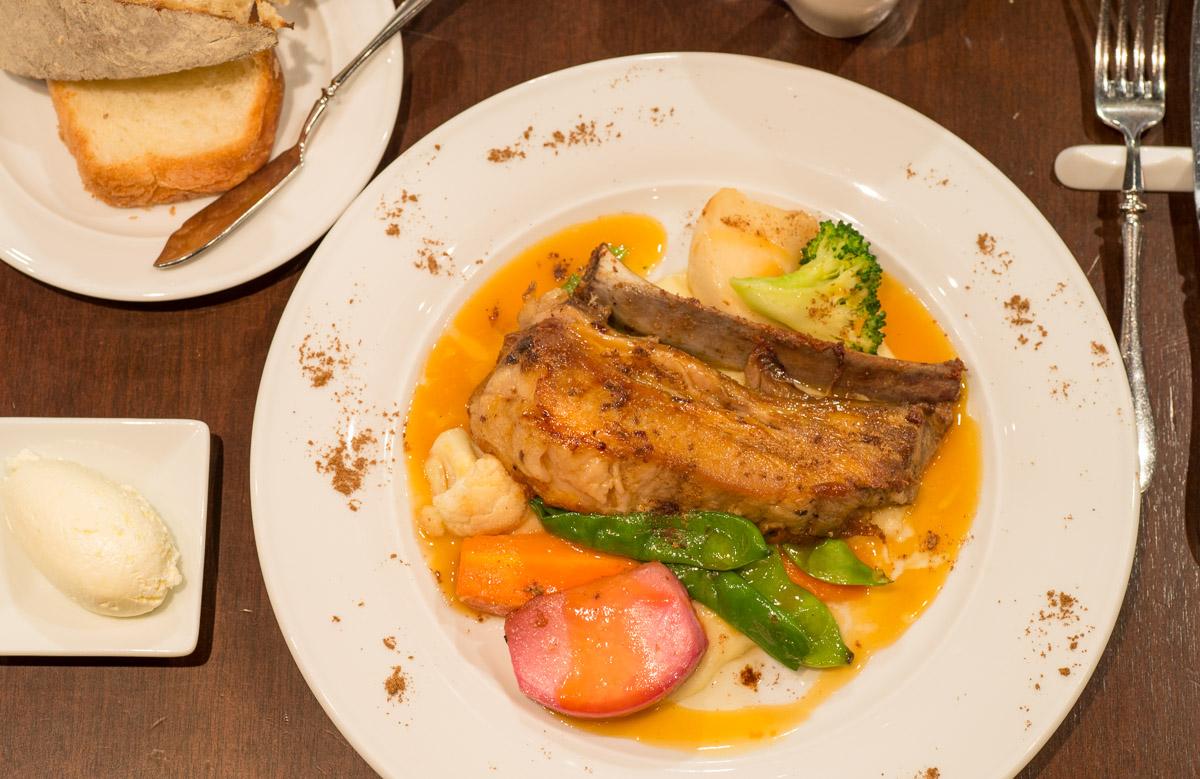 Sauteed Hokkaido Pork Spare Rib with Honey Citrus Sauce