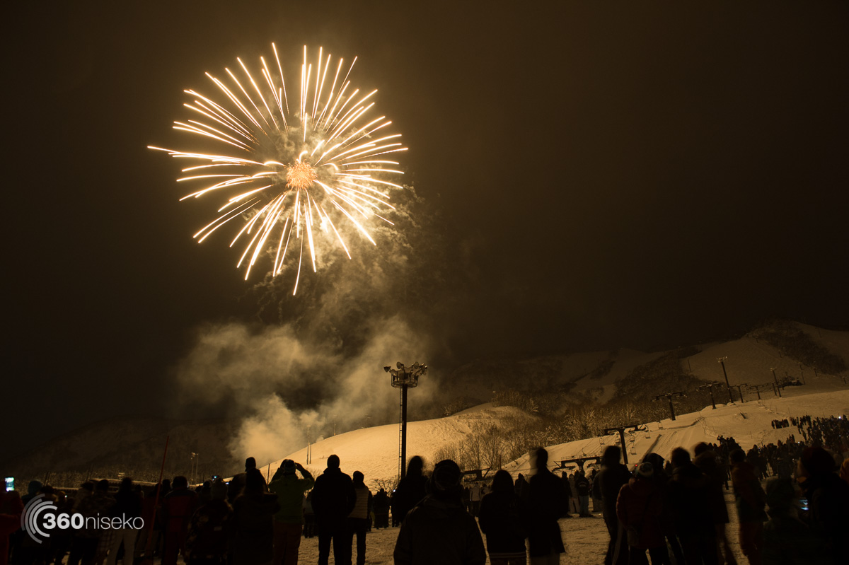 New Years fireworks, 1 January 2016