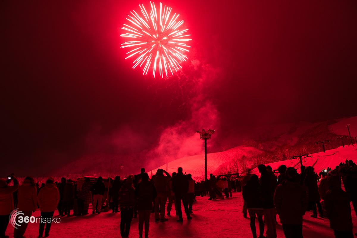 New Years fireworks, 1 January 2016