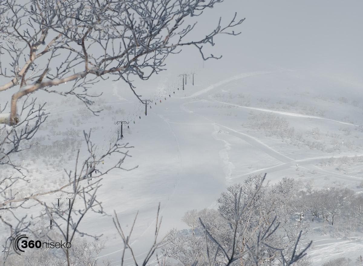 Headed for first tracks glory at Niseko Village, 23 January 2016