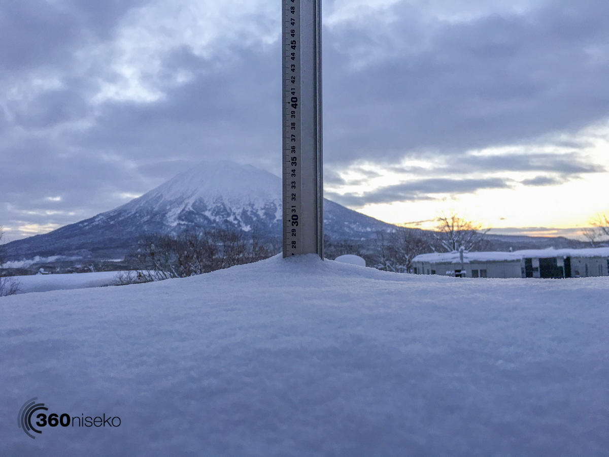 Niseko Snow Report, 15 January 2016