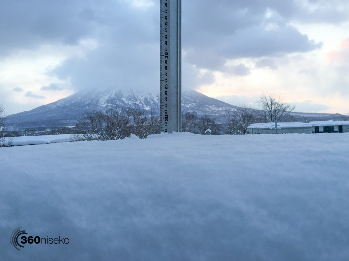 Niseko Snow Report, 27 January 2016