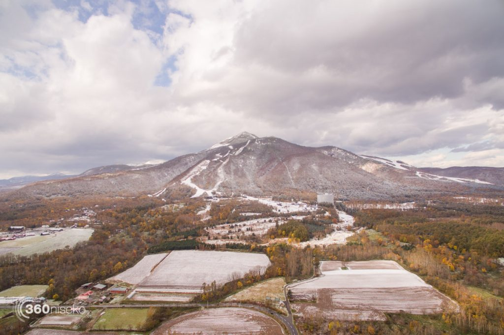 Niseko Snowfall, 24 October 2016