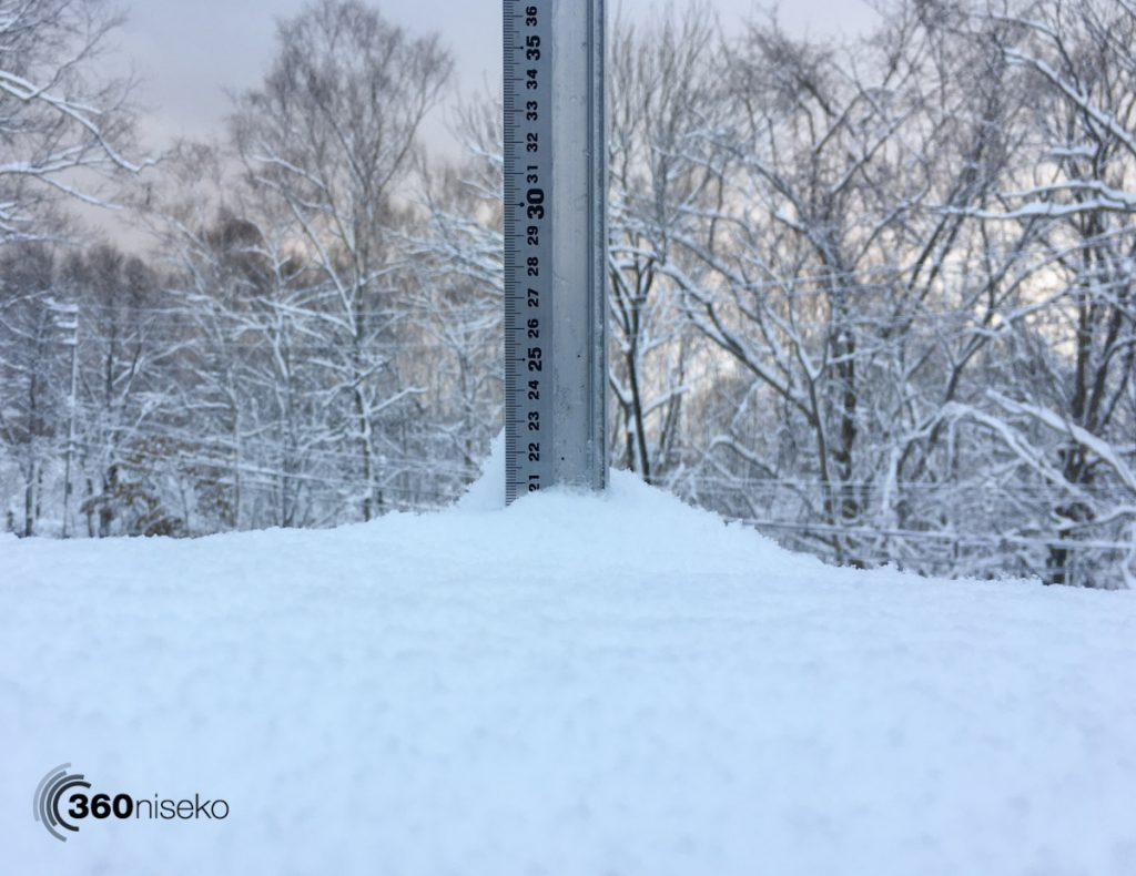 Niseko Snow Report, 10 November 2016