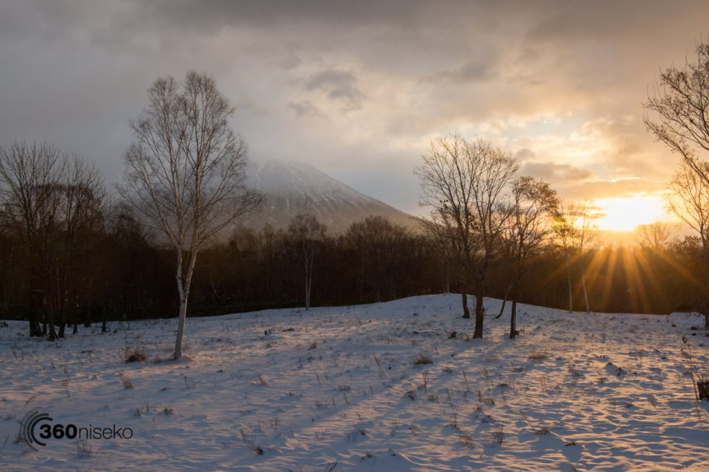 NIseko sunrise over Mt.Yotei, 17 November 2016