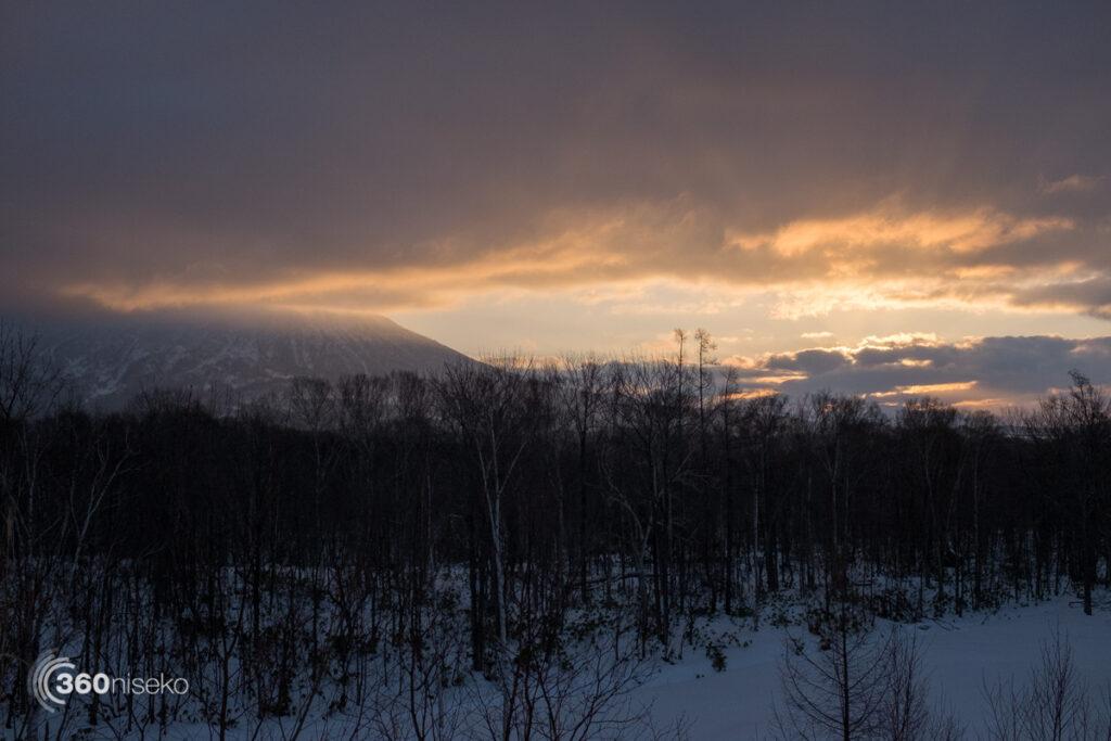 Niseko sunrise, 8 January 2017