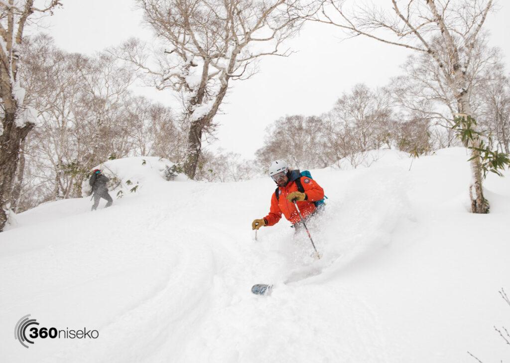 Legendary Hokkaido Backcountry guide Chris, 31 December 2016