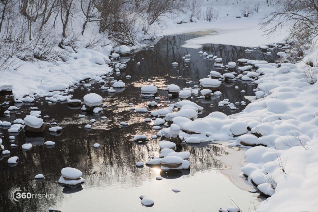 The Shiribetsu River, 3 January 2017