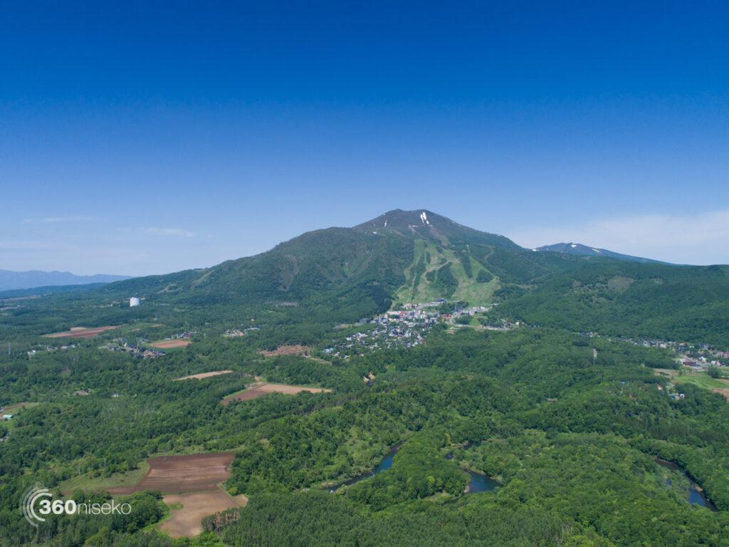 Looking towards Hirafu, 9 June 2017
