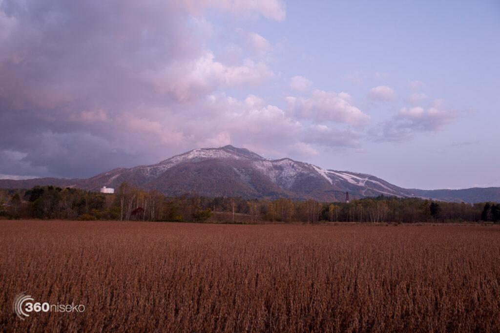 Mt.Annupuri from Kayamama, 18 October 2017