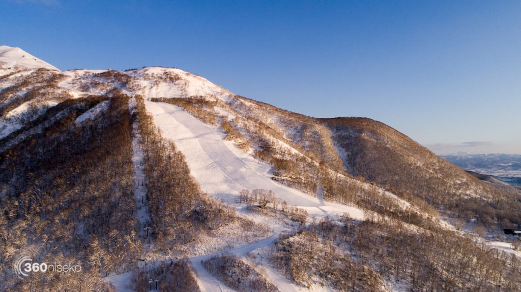 Niseko Village Ski Resort - Namara Run, 4 December 2017