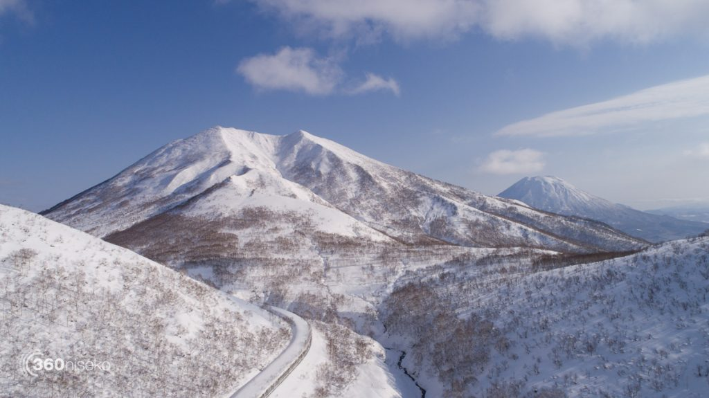Mt.Annupuri and Mt.Yotei, 4 December 2017