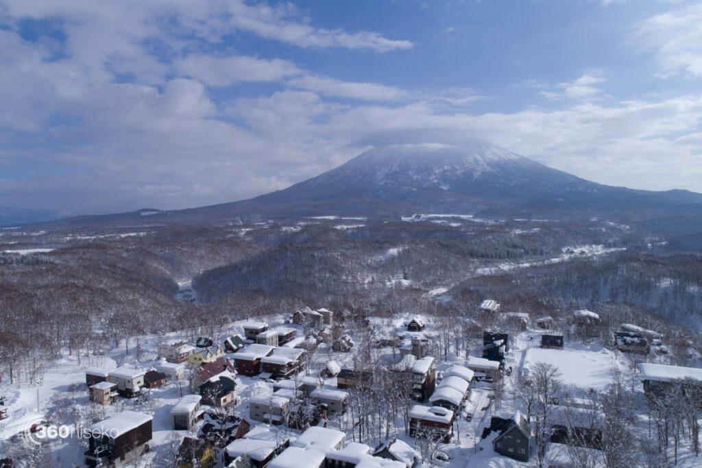 Lower Hirafu Village & Mt.Yotei, 22 December 2017