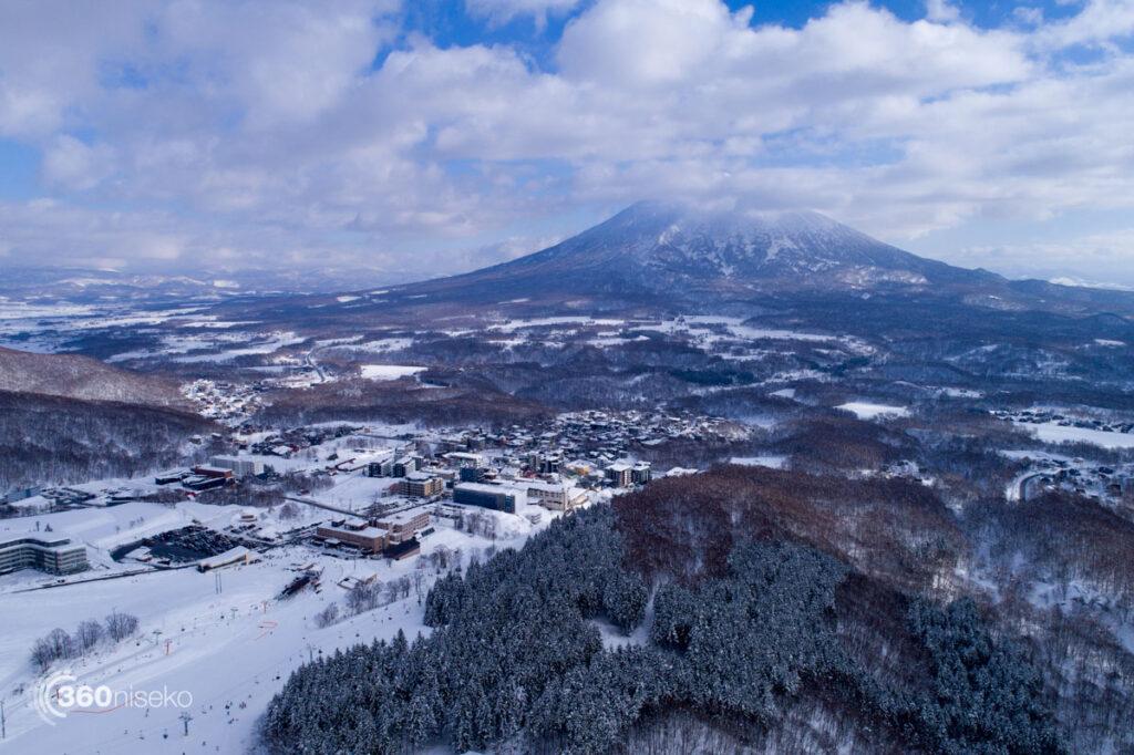 Hirafu Village and Mt.Yotei, 22 December 2017